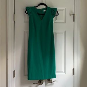 Calvin Klein Kelly Green Dress